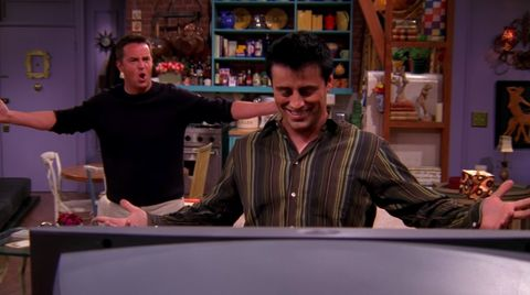 Friends viewers notice mattress blunder