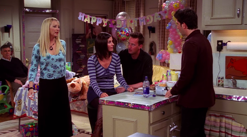 Friends, season 10 'The One with the Cake'