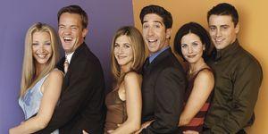 El reparto de 'Friends', al completo.