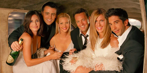 De cast van Friends