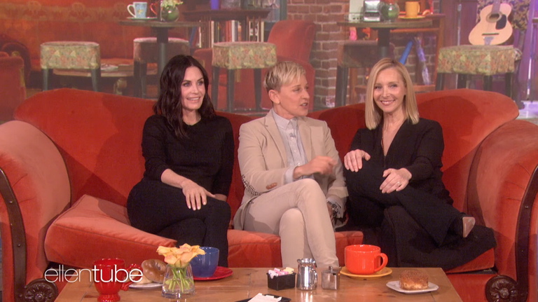 Friends cast reunion - All the times Rachel, Monica, Phoebe
