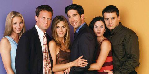 El casting de la serie 'Friends'.
