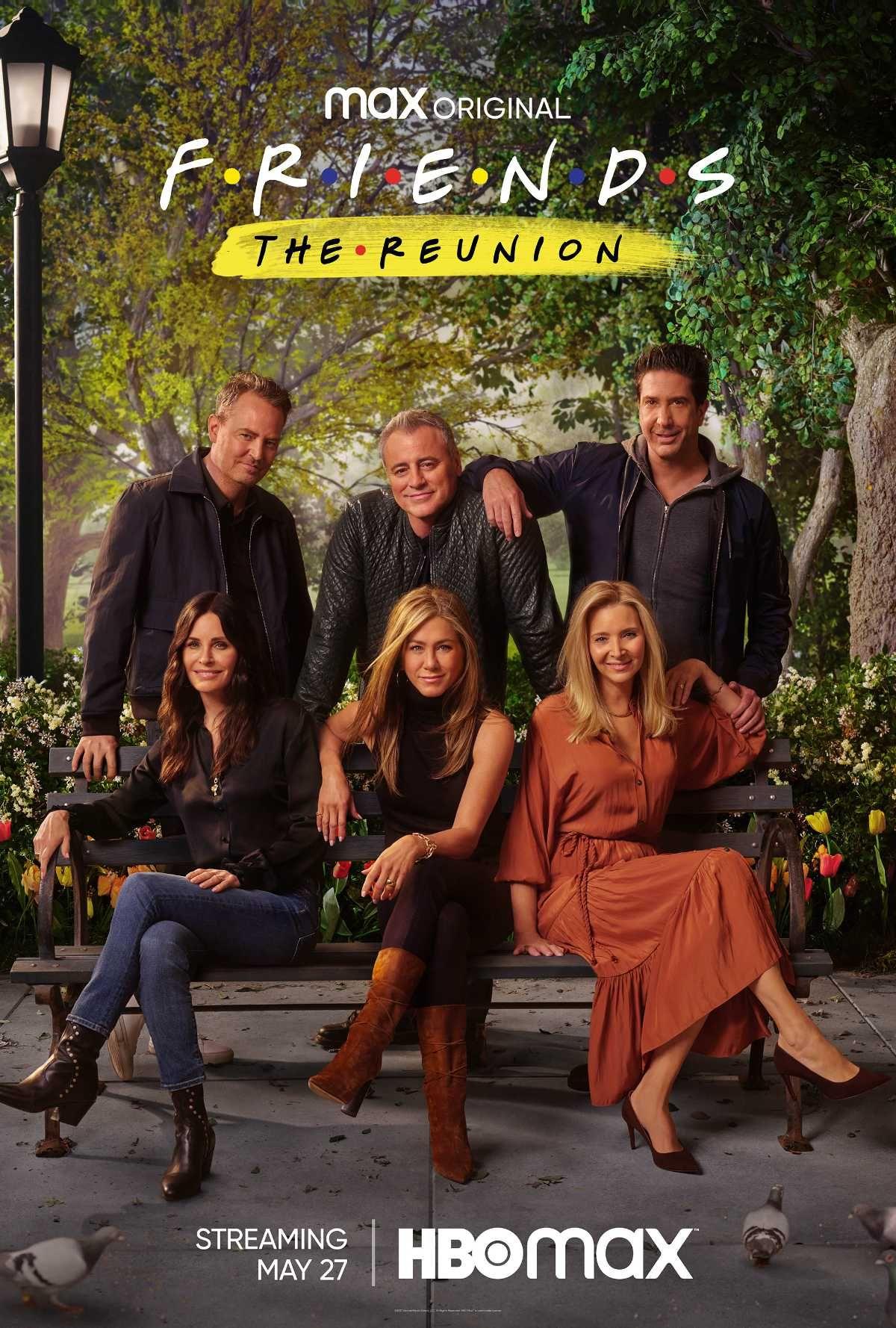 Friends The Reunion: trailer y póster oficial de HBO