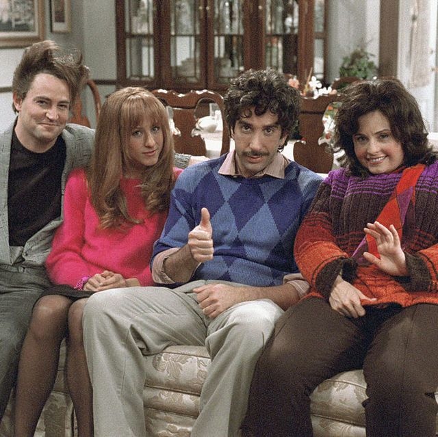 """Friends"" Thanksgiving Episodes - Monica, Chandler, Joey, Rachel, Phoebe, Ross"