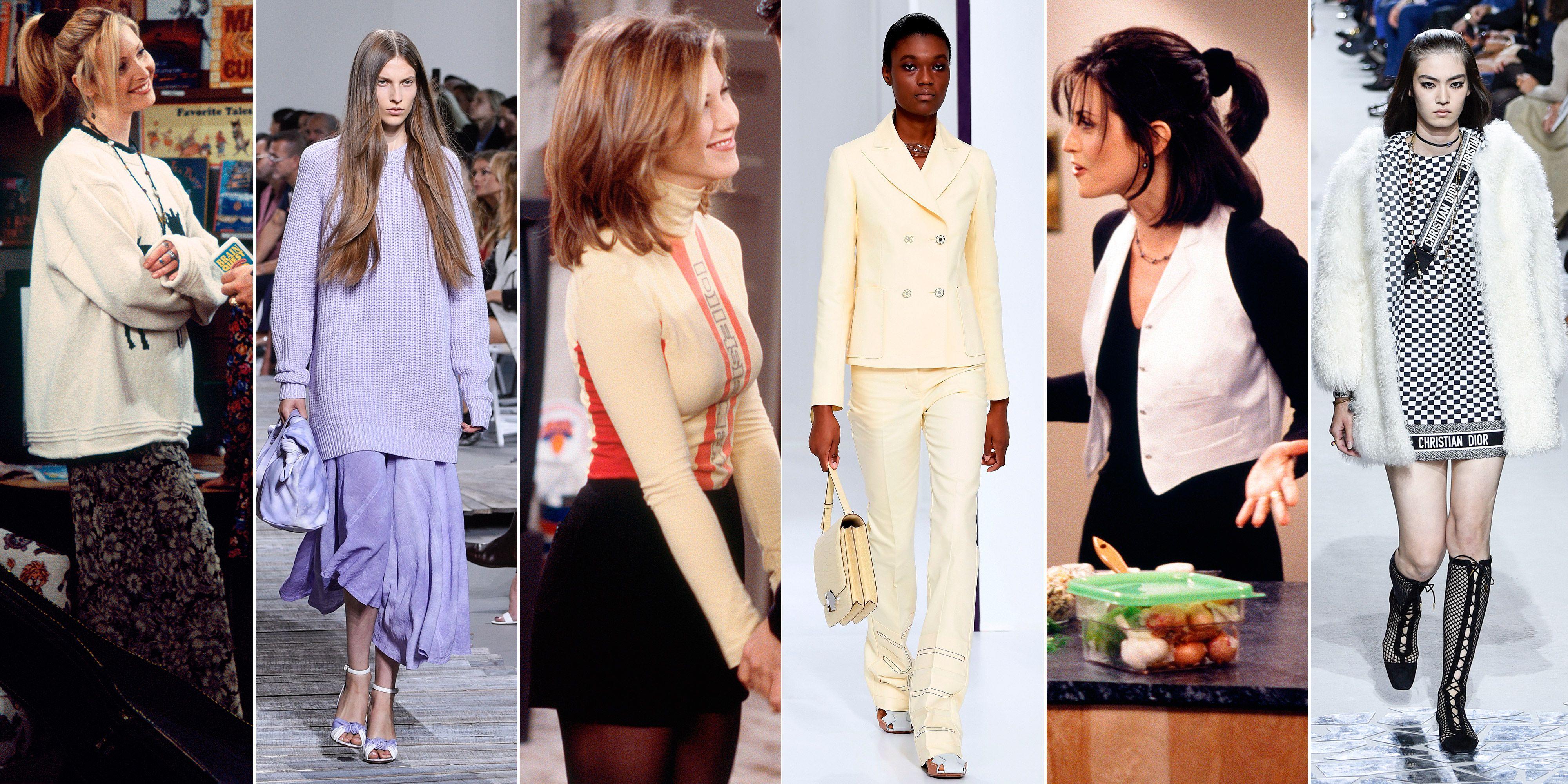 Friends fashion trends