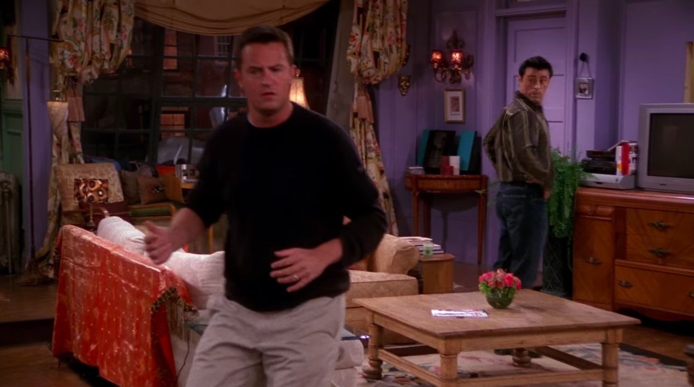 Friends switched off TV blunder
