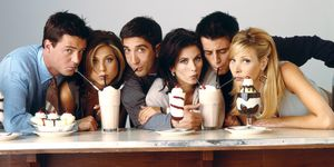 Friends, Matthew Perry, Jennifer Aniston, David Schwimmer, Courteney Cox, Matt Le Blanc, Lisa Kudrow