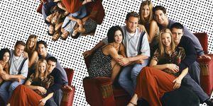 Friends, Joey, Chandler, Monica, Rachel, Phoebe, Ross
