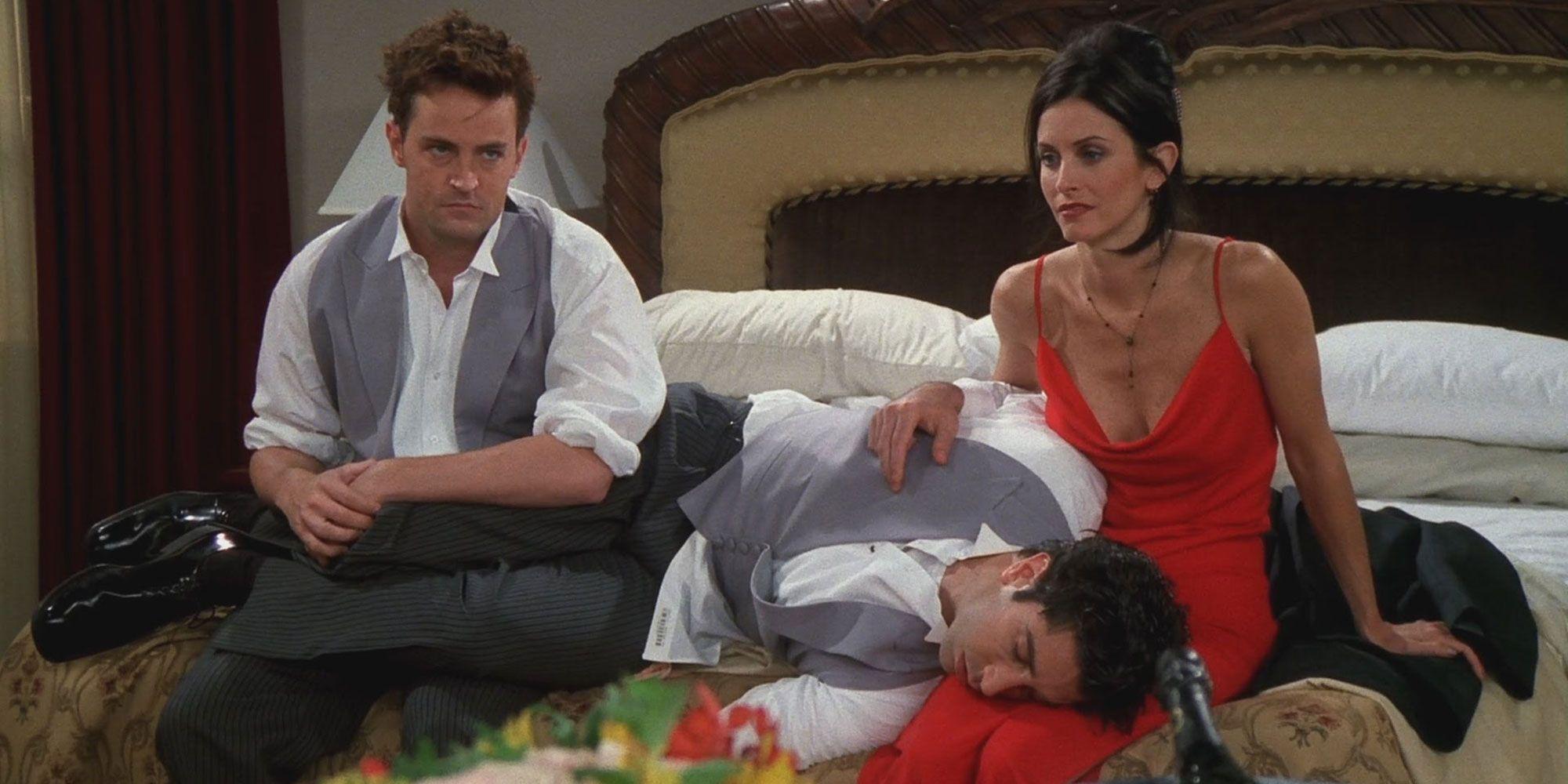 Ross' wedding in Friends