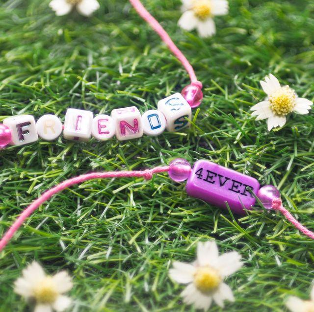 friendship bracelet making