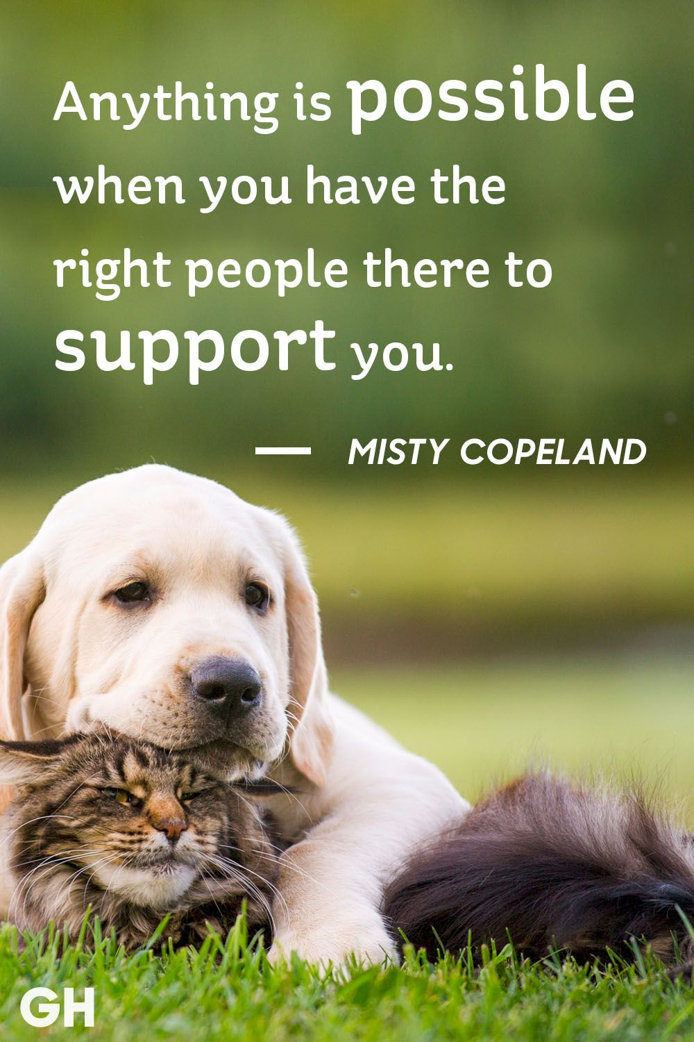 Misty Copeland friendship quote