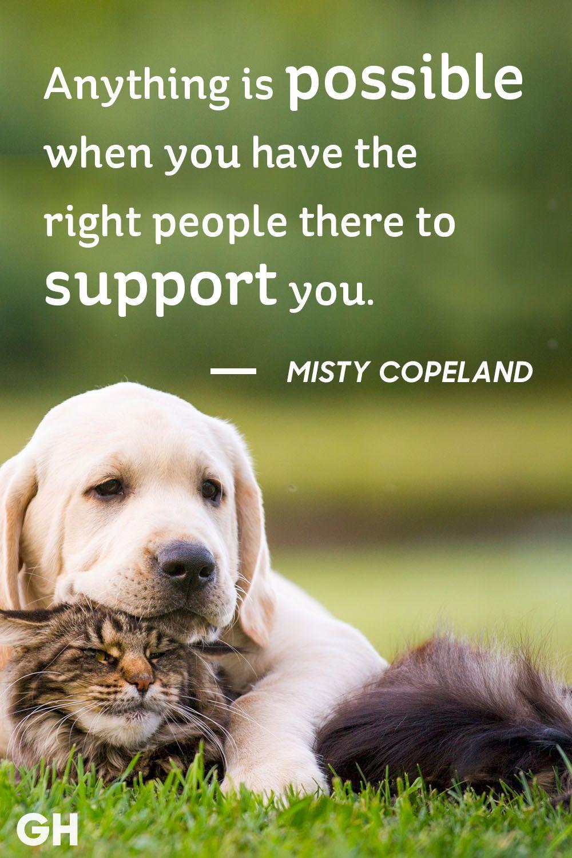 Misty Copeland Friendship Quote