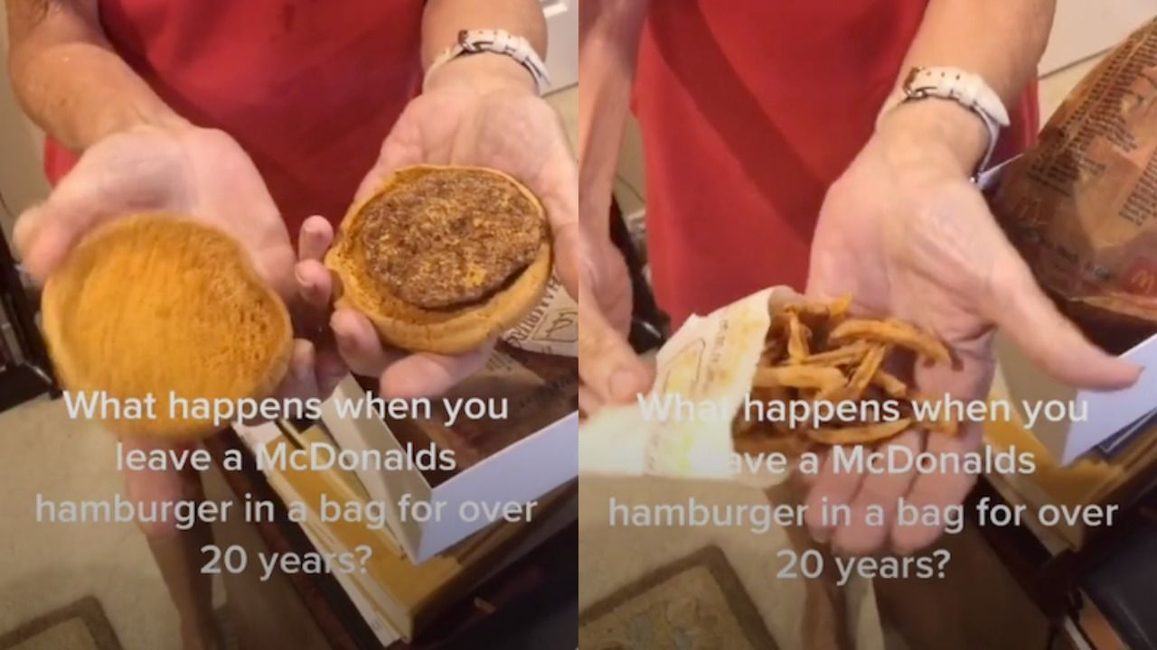 This Woman Has Kept A Mcdonald S Burger And Fries For 24 Years