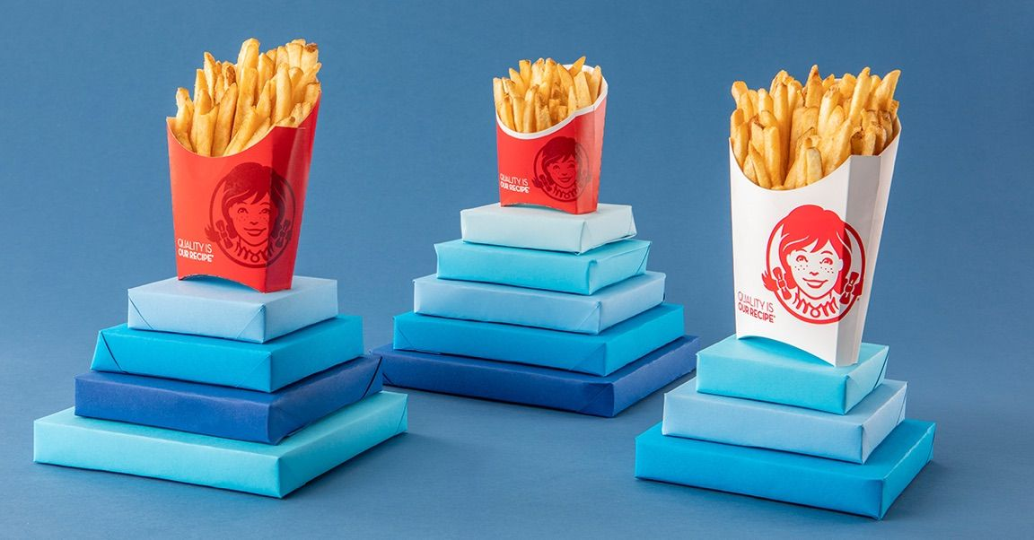 Wendys Is Selling Any Size Fries For Just 1 Each