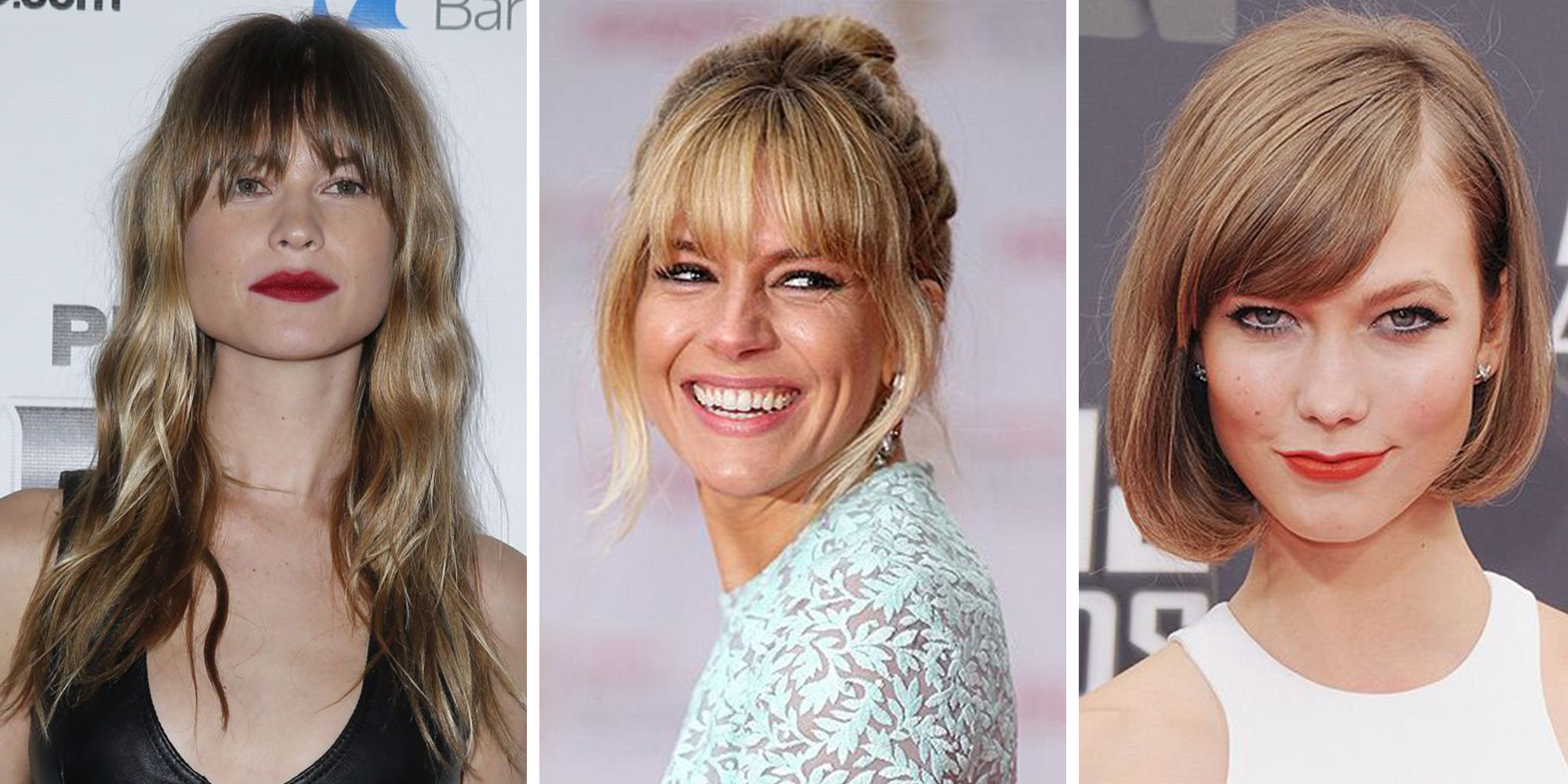 40 Fringe hair cuts for 2019 - Women's hairstyle inspiration