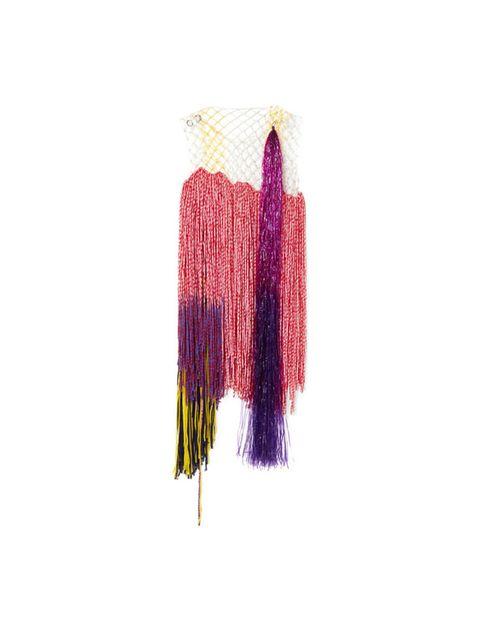 Violet, Pink, Magenta, Thread, Feather,