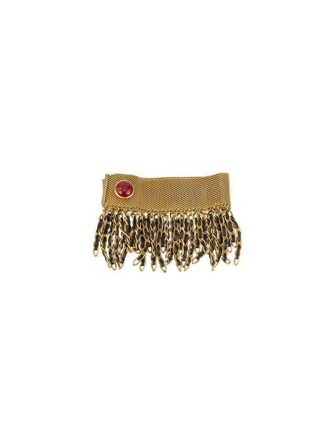 Chain, Fashion accessory, Jewellery, Beige, Leather, Metal, Bracelet, Belt, Brass,