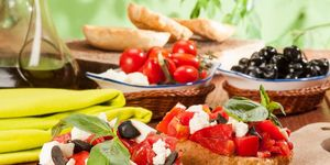Italian frisella with tomato