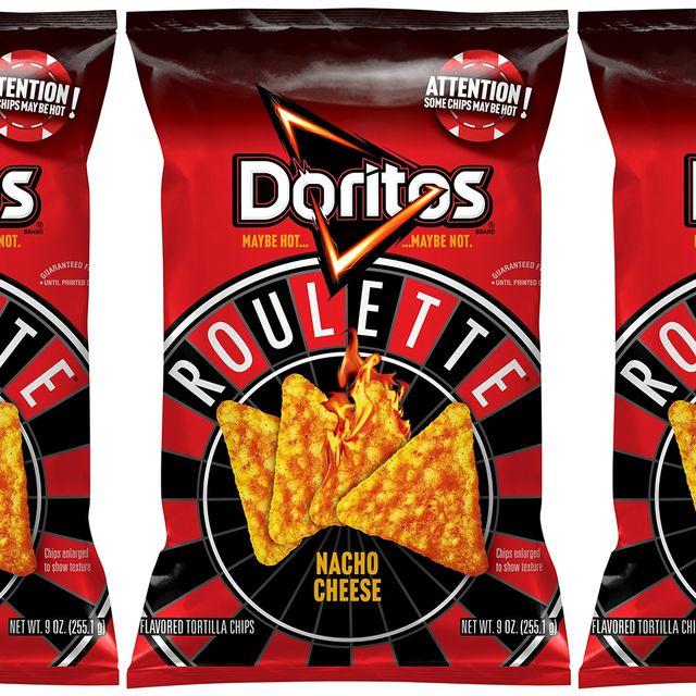 frito lay doritos roulette nacho cheese chips 2021