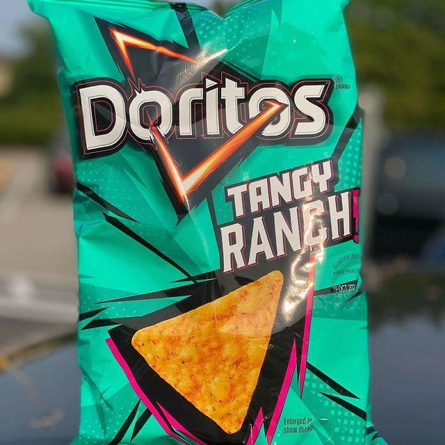 frito lay doritos tangy ranch chips