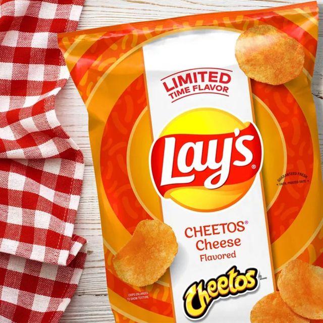 frito lay lay's cheetos cheese chips
