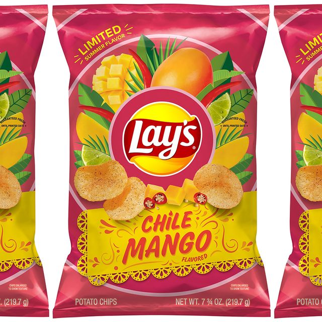 frito lay lay's chile mango flavored chips