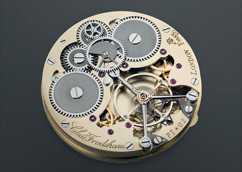 Frodsham Double Chronometer Final Movement Prototype
