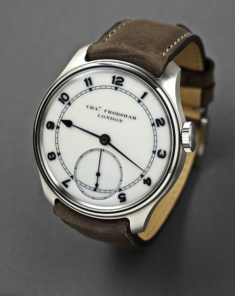 Frodsham Double Chronometer Steel Arabic Dial