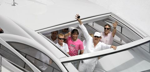 Eyewear, Vision care, Sunglasses, Goggles, Passenger, Boat, Crew,