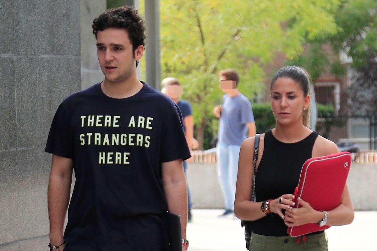 Froilán de Marichalar y Mar Torres vuelven a sus clases en la universidad