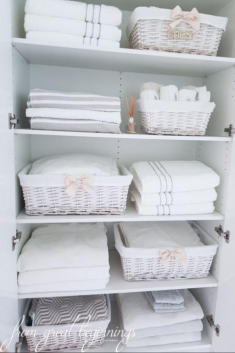 Linen Closet Organization Ideas How To Organize Your