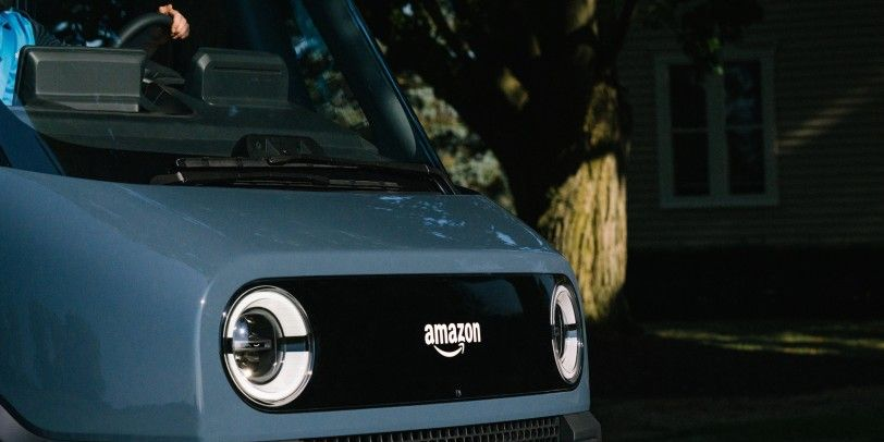 Amazon Shows Prototype of Its Rivian-Built Electric Delivery Van