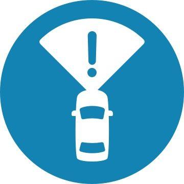 Front Automated Emergency Braking icon