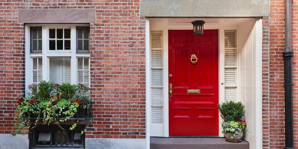 What the Color of Your Front Door Says About You & 25+ Best Front Door Paint Colors - Paint Ideas for Front Doors