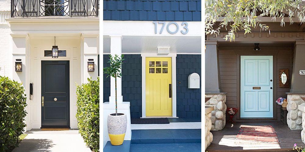 front door colors & 25+ Best Front Door Paint Colors - Paint Ideas for Front Doors