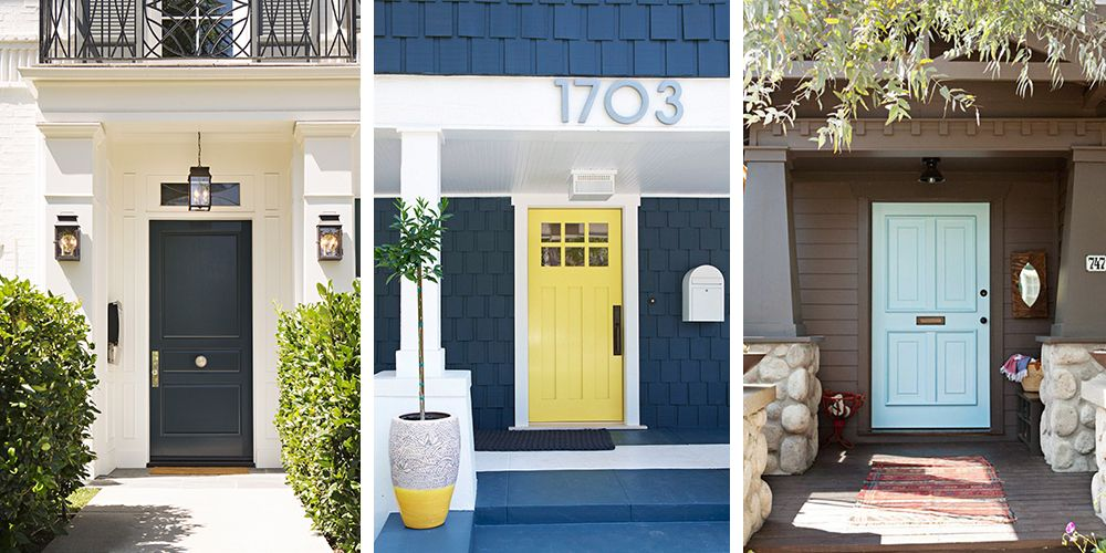 Beau Front Door Colors. House Beautiful