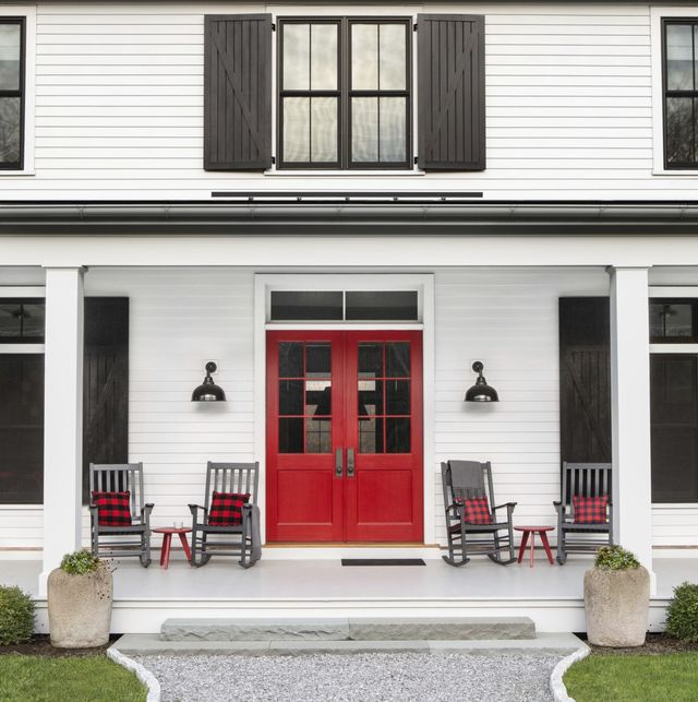 20 Best Front Door Colors To Paint Your