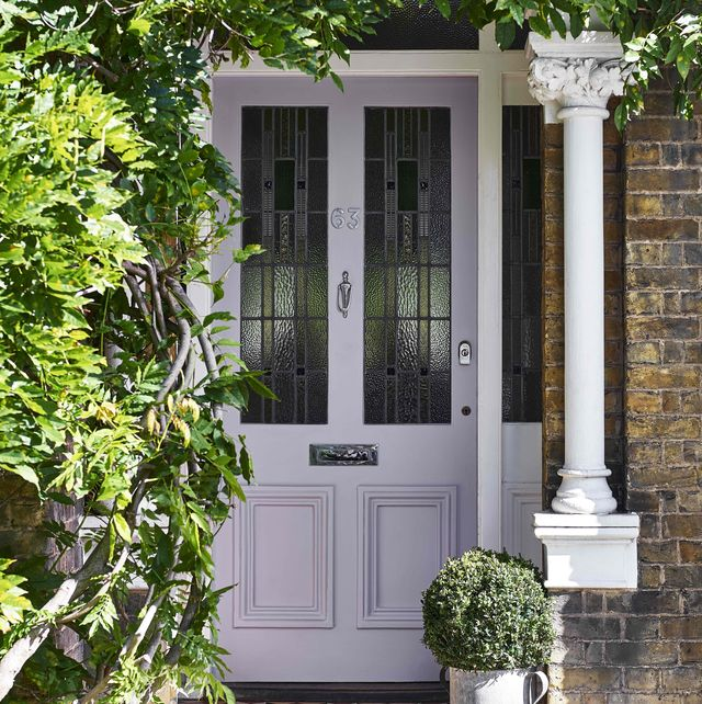 these are the most instagrammed front door colours