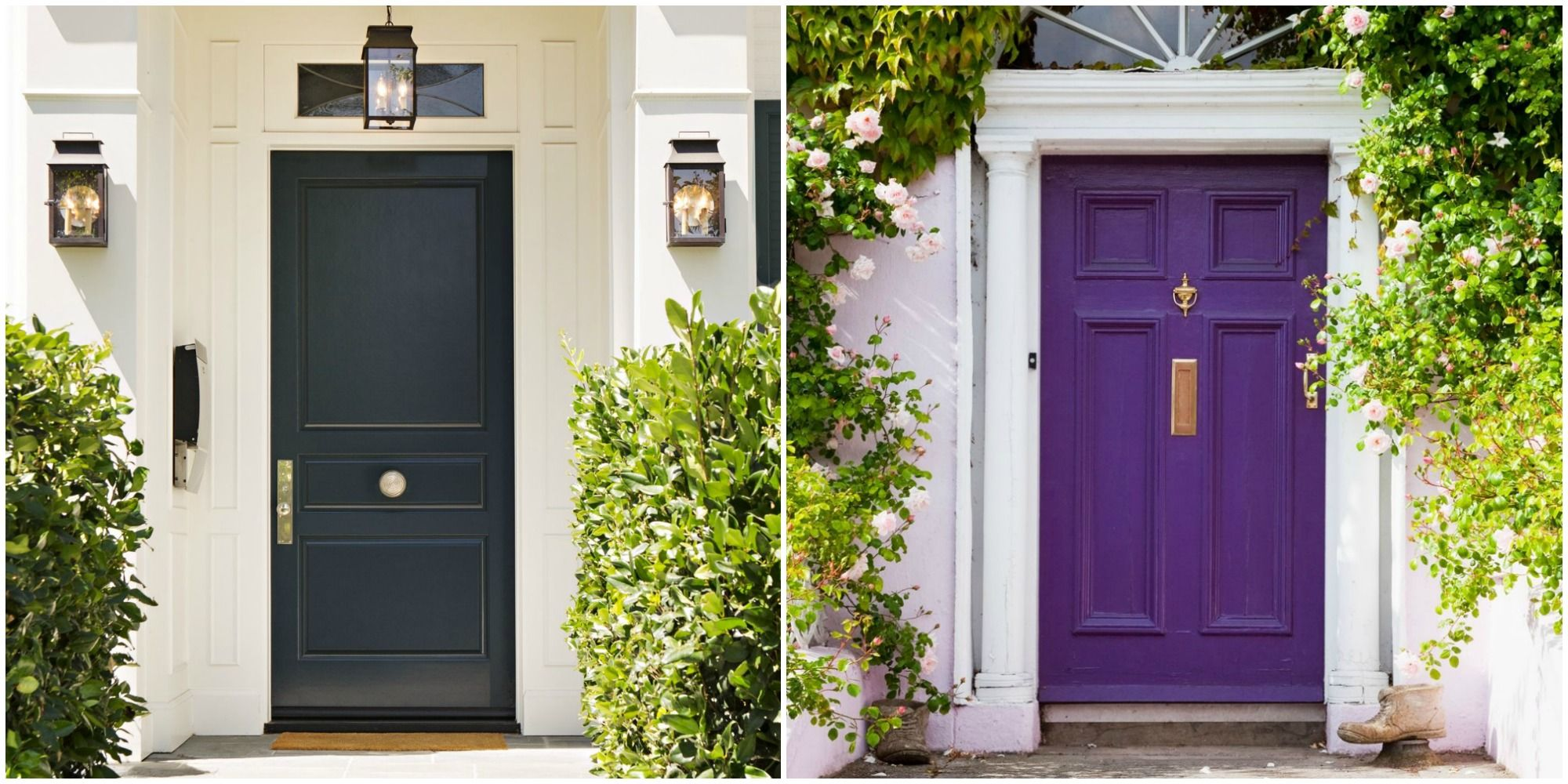 Go sunny with a cheery yellow demure with a dove gray or bold with a true red. After all your front door is your home\u0027s and first impression. & 14+ Best Front Door Paint Colors - Paint Ideas for Front Doors Pezcame.Com