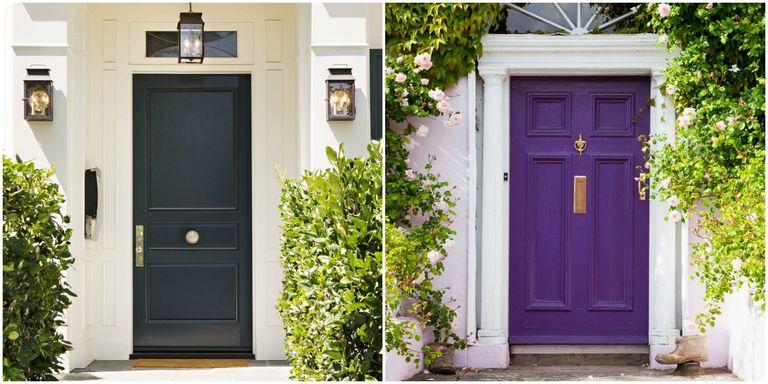 14+ Best Front Door Paint Colors - Paint Ideas for Front Doors