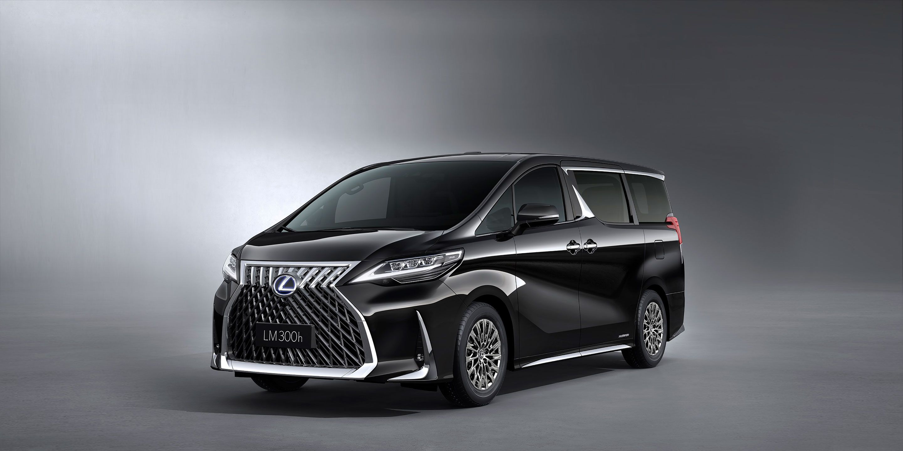 Lexus LM Minivan: We'd Describe It to You, But Really You Should Just Take a Look for Yourself