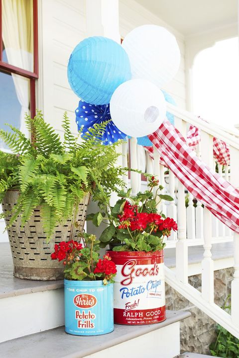 front porch ideas tins