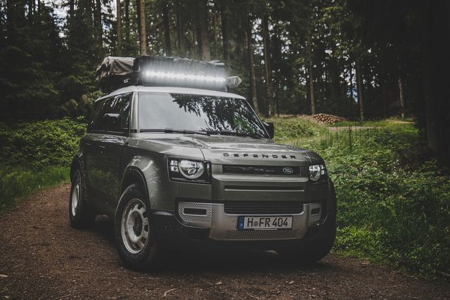 front runner outfitters land rover defender roof rack