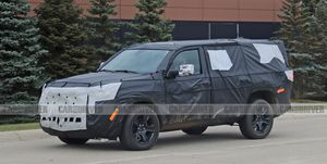 Jeep Wagoneer Spy Photos