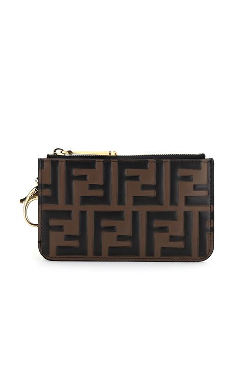 Brown, Fashion accessory, Wallet, Bag, Handbag, Wristlet, Coin purse, Rectangle, Material property, Leather,