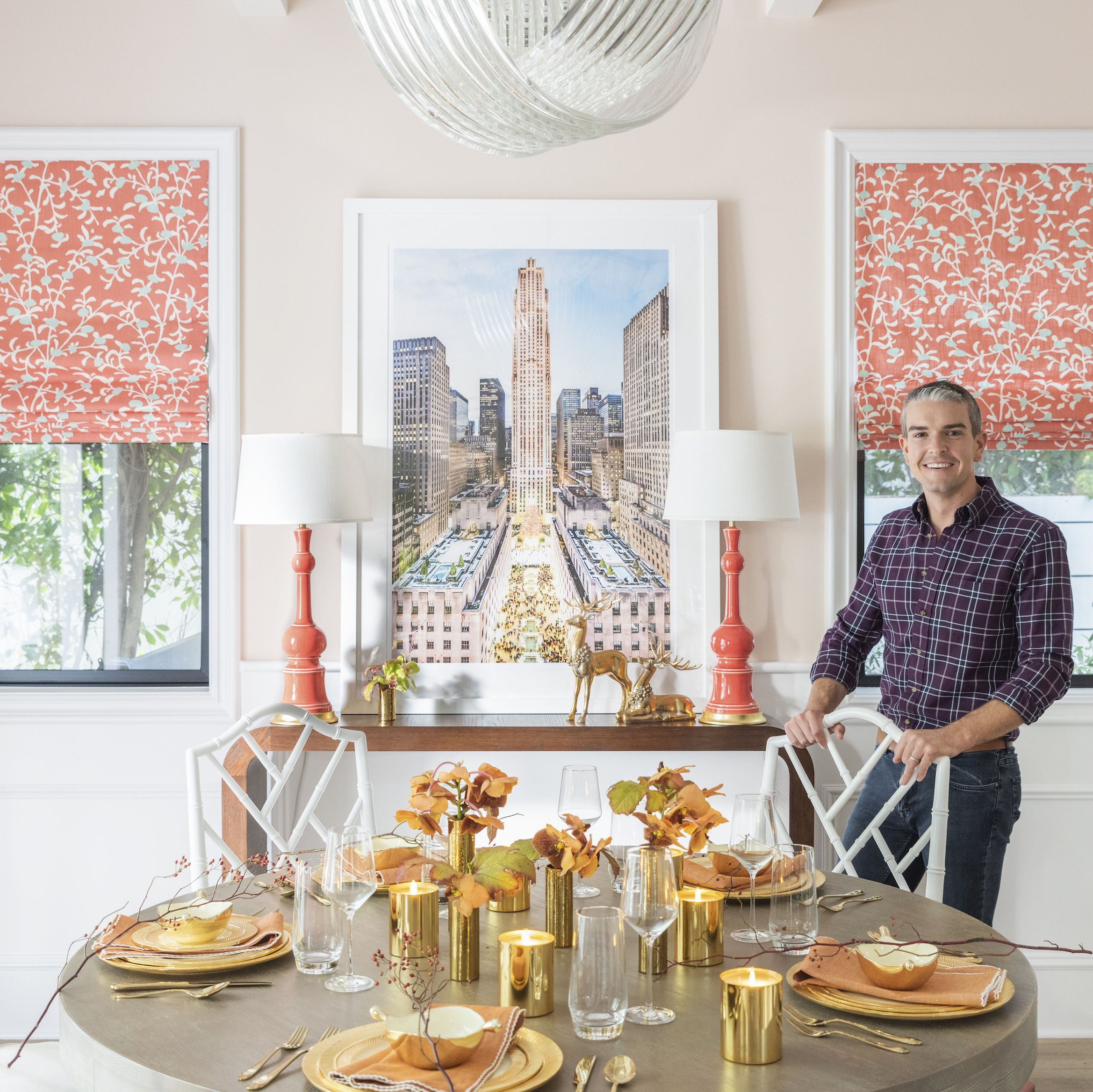 Gray Malin's Holiday Decor Proves That Coral Is The Best Christmas Color