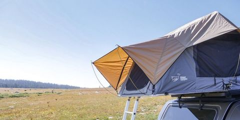 Tent, Canopy, Automotive exterior, Wilderness, Vehicle, Car, Camping, Fell, Shade, Landscape,