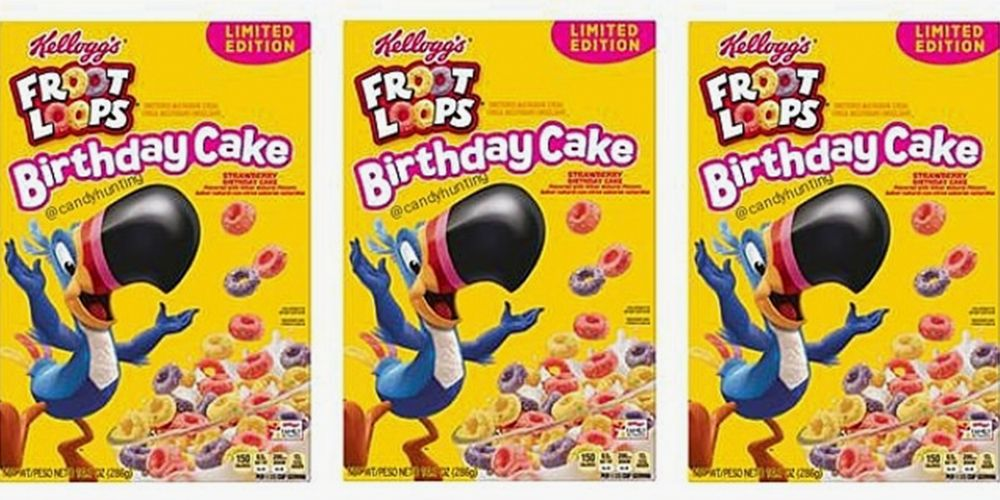 Froot Loops Is Introducing a Birthday Cake Flavor to Turn Breakfast Into a Party
