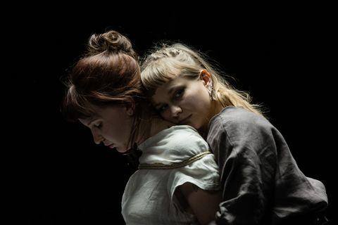 Human, Darkness, Photography, Flash photography, Hug, Love,
