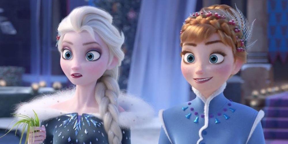 Frozen 2 epica grande arandelle elsa anna